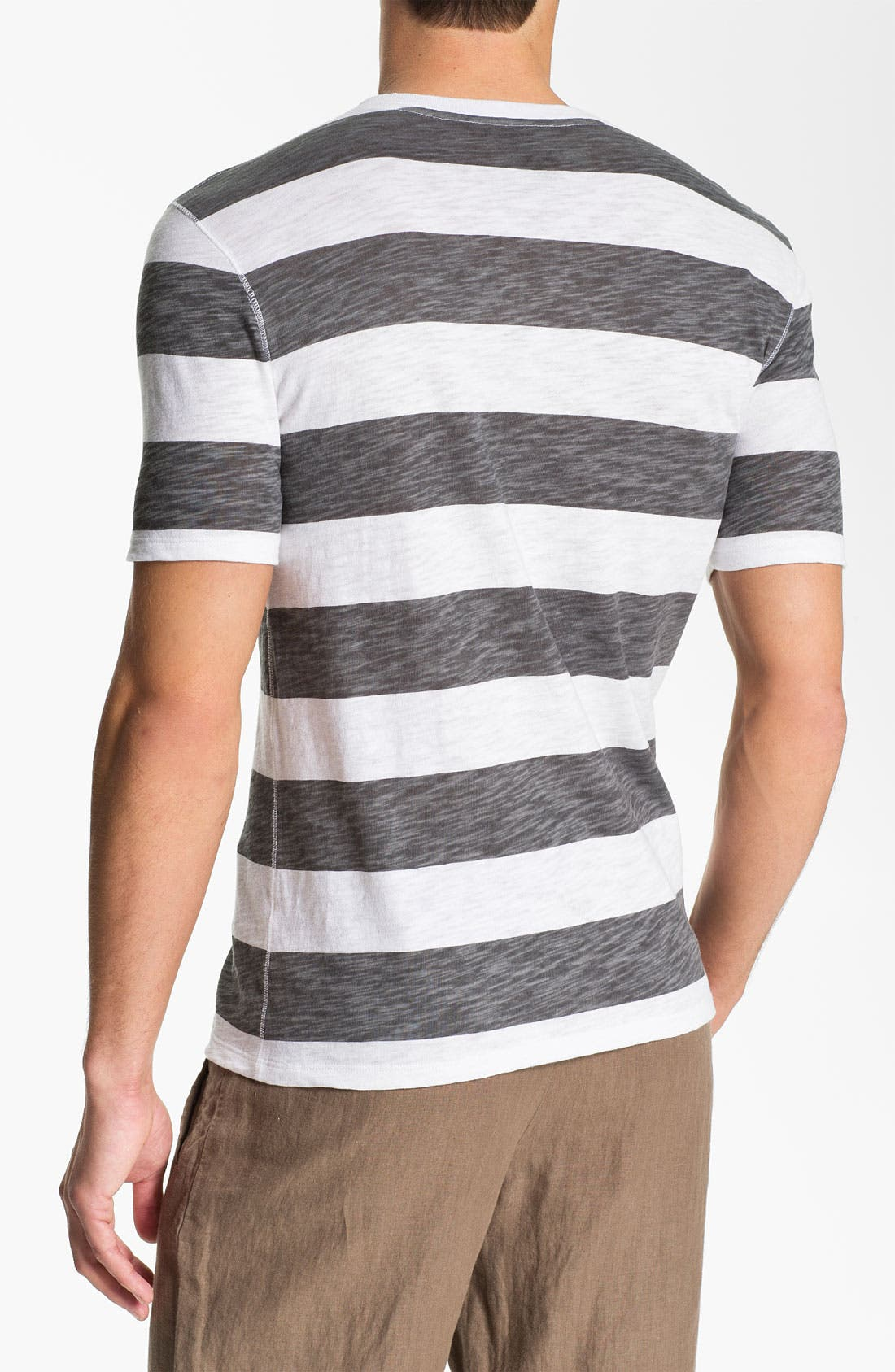 Alternate Image 2  - Vince Slub Stripe Henley T-Shirt