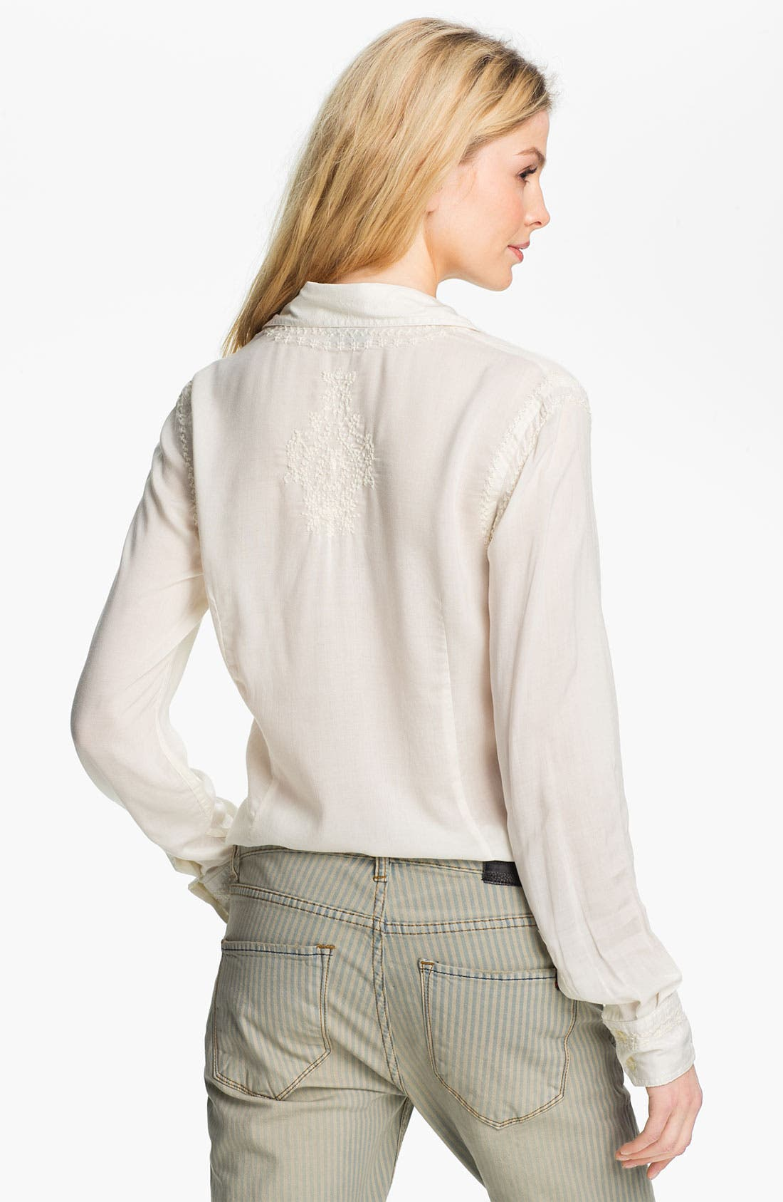 Alternate Image 2  - Lucky Brand 'Joan - French Knot' Shirt