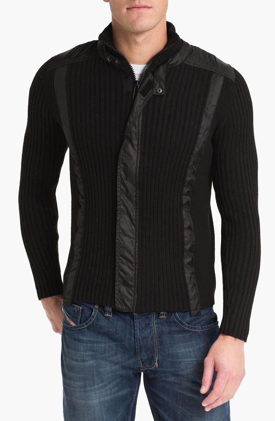 Main Image - Paul Black Zip Sweater