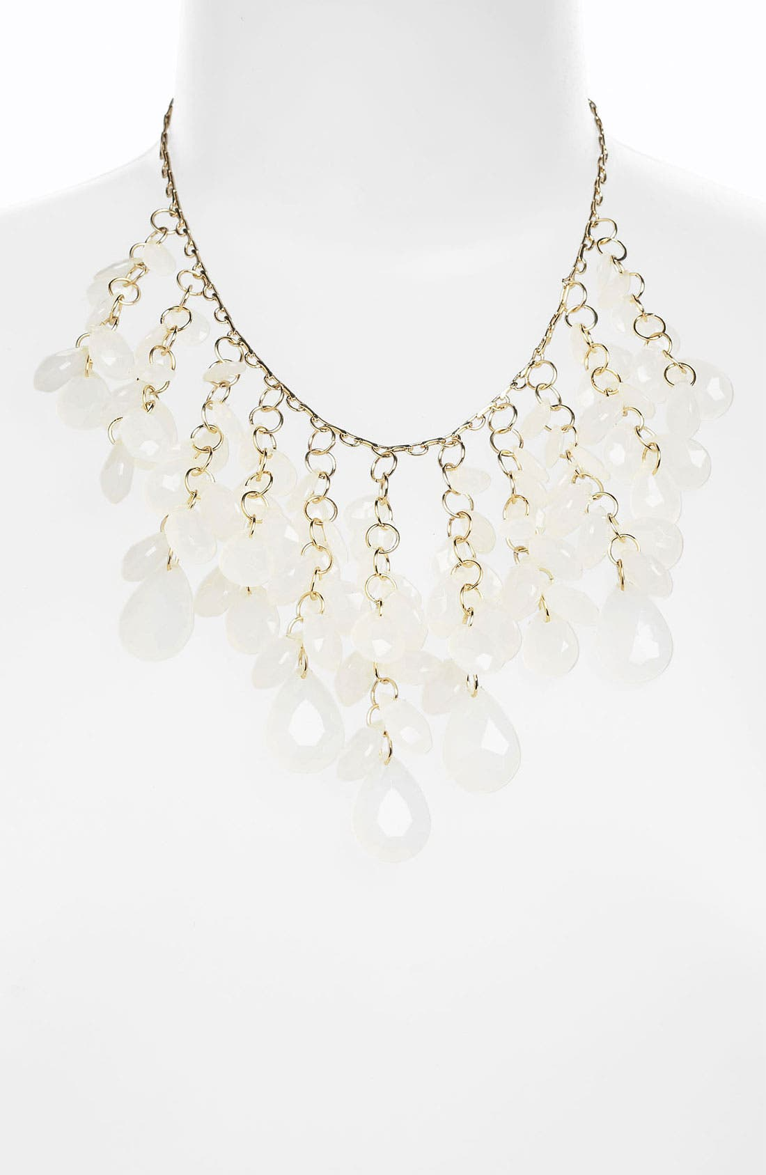 Alternate Image 1 Selected - Stephan & Co. Teardrop Cluster Statement Necklace