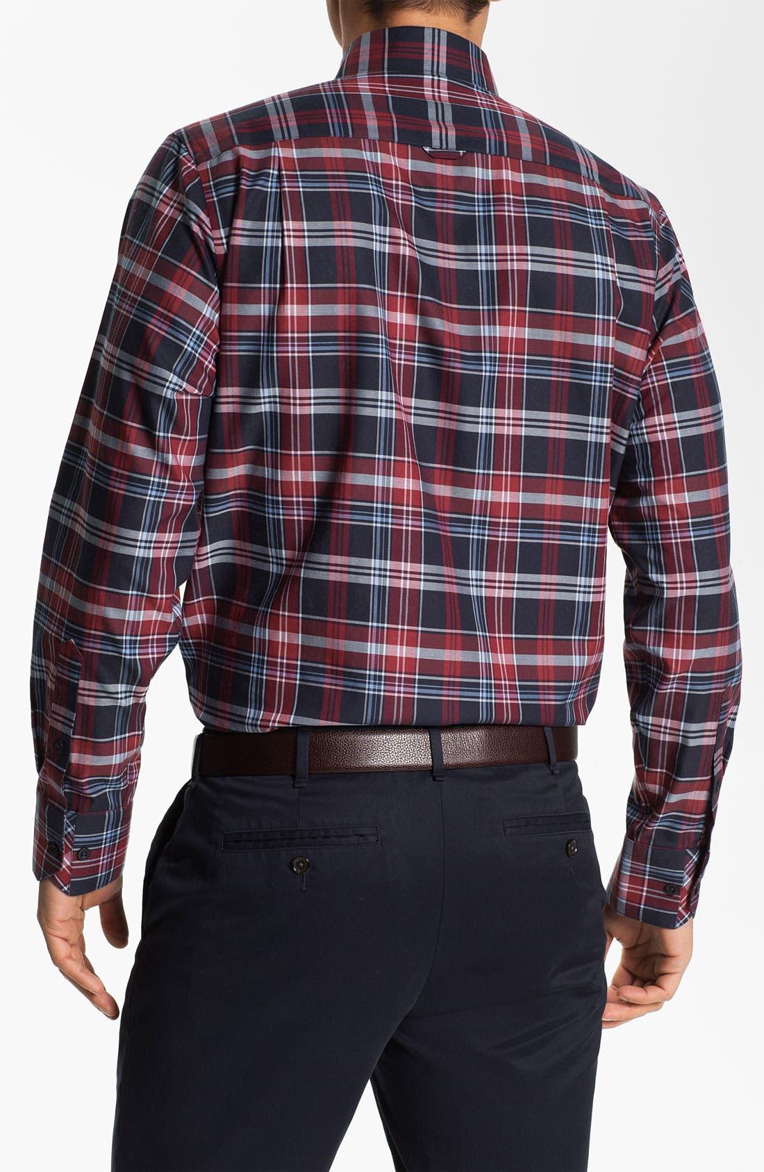 Alternate Image 2  - Nordstrom Regular Fit Twill Sport Shirt