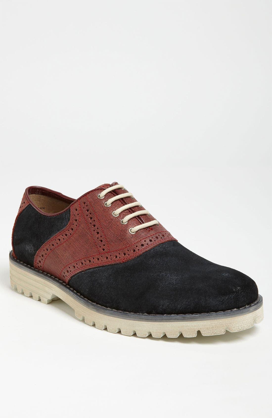 Alternate Image 1 Selected - Hush Puppies® 'Authentic' Saddle Shoe
