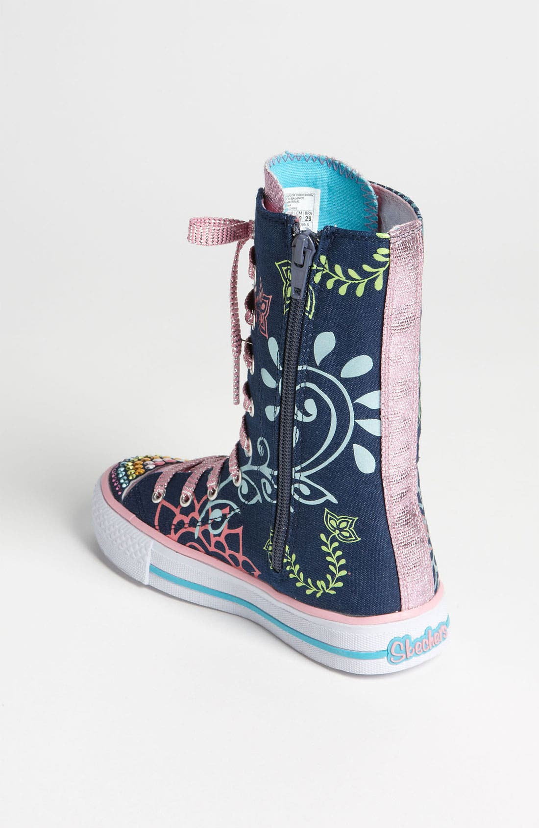 Alternate Image 2  - SKECHERS 'Twinkle Toes - Shuffles Lucky Kisses' Sneaker (Toddler, Little Kid & Big Kid)