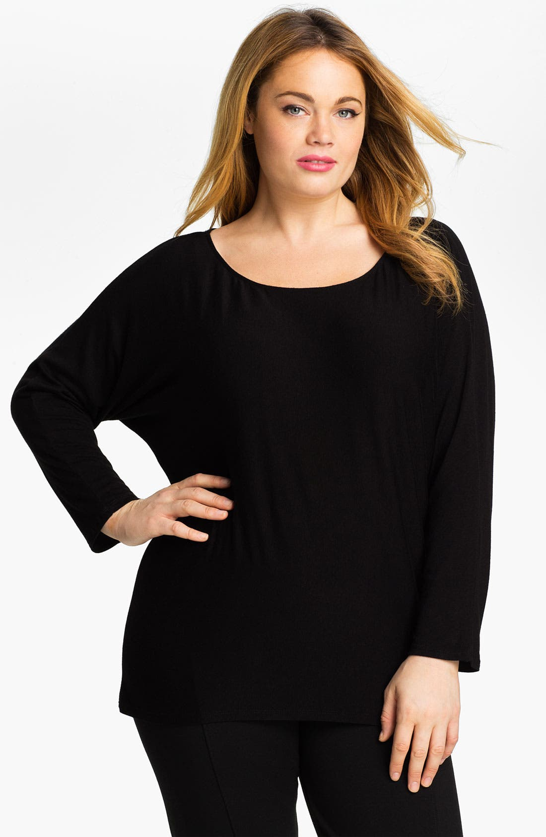 Main Image - Out of Ashes Dolman Sleeve Tunic (Plus)