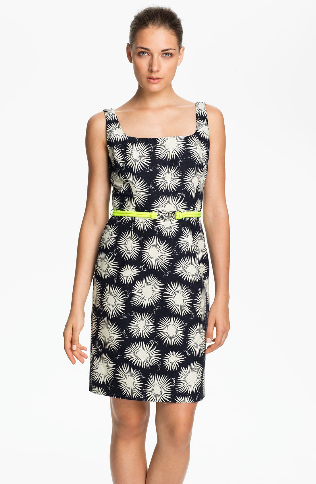 Alternate Image 1 Selected - Milly 'Sydie' Cotton Sheath Dress