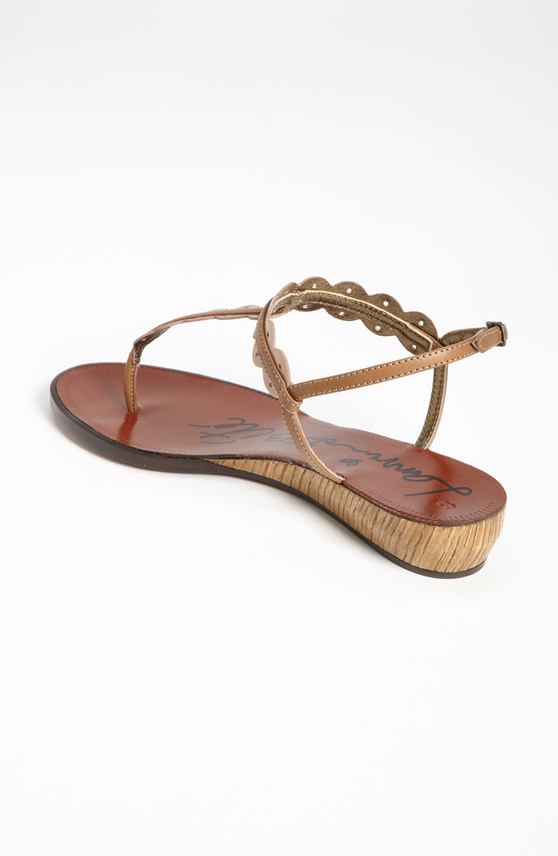 Alternate Image 2  - Lanvin Mini Wedge Thong Sandal