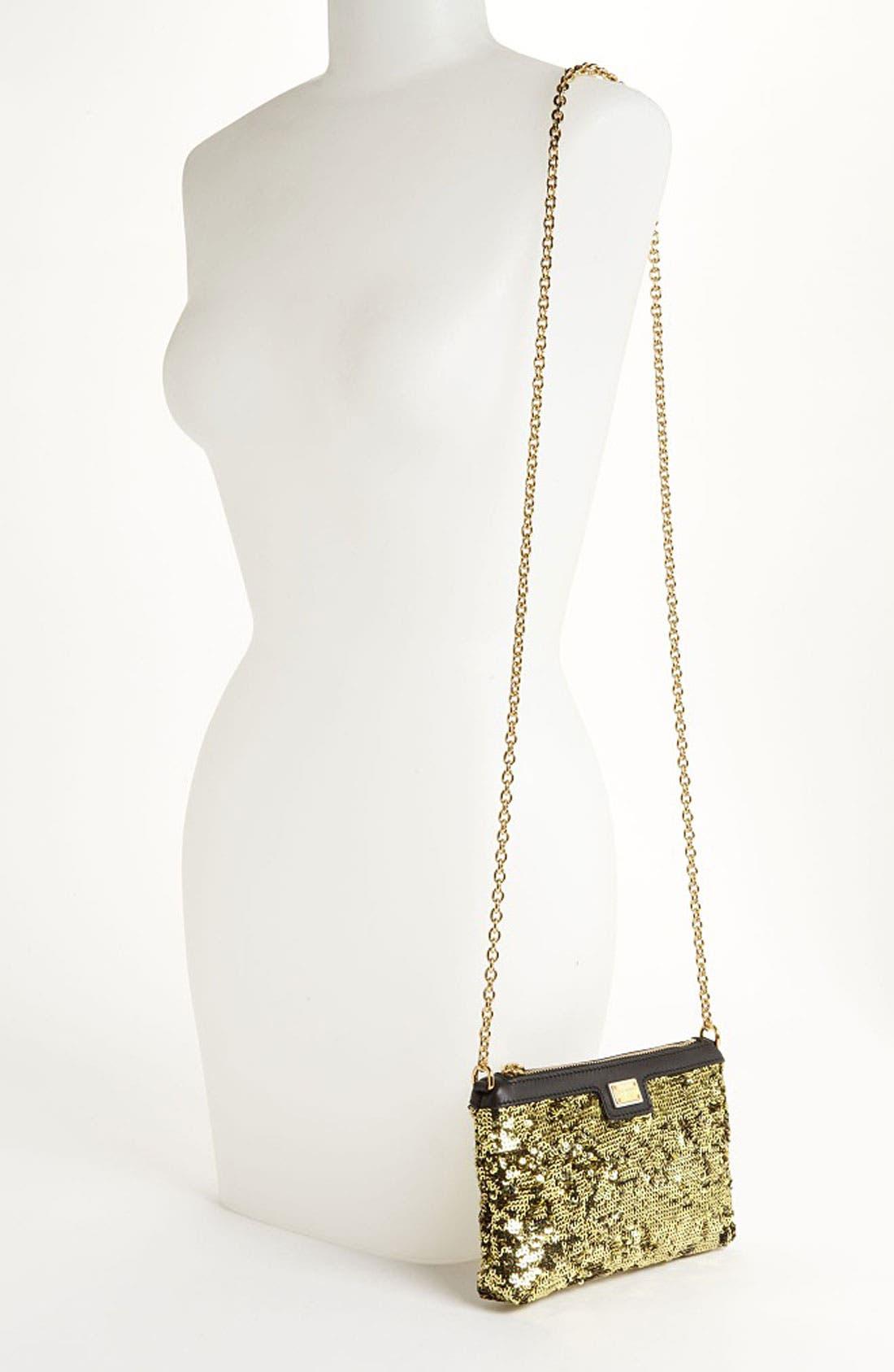 Alternate Image 2  - Dolce&Gabbana 'Miss Mini' Sequin Crossbody Bag