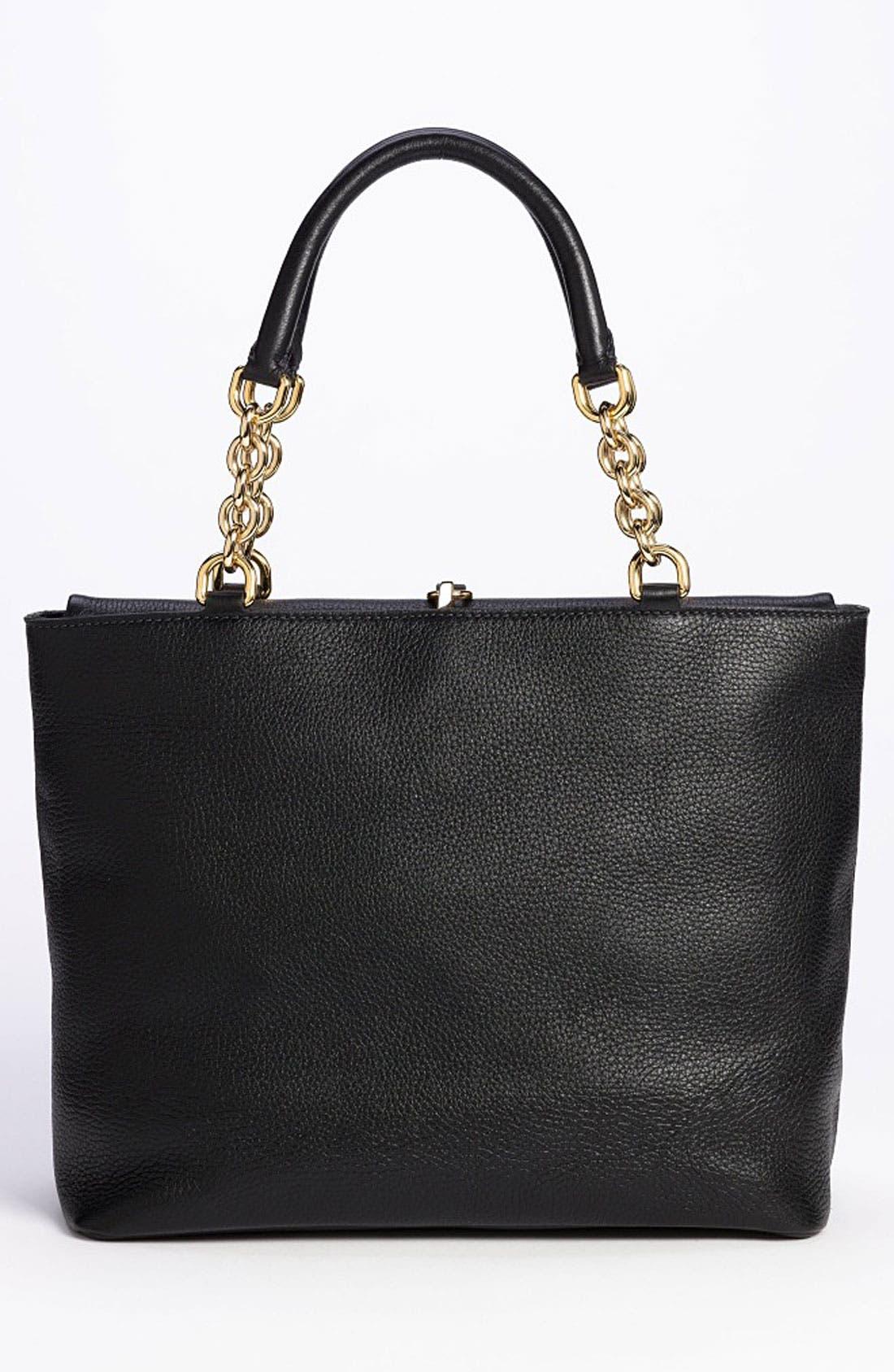 Alternate Image 4  - Dolce&Gabbana 'Miss Emma' Leather Shoulder Bag