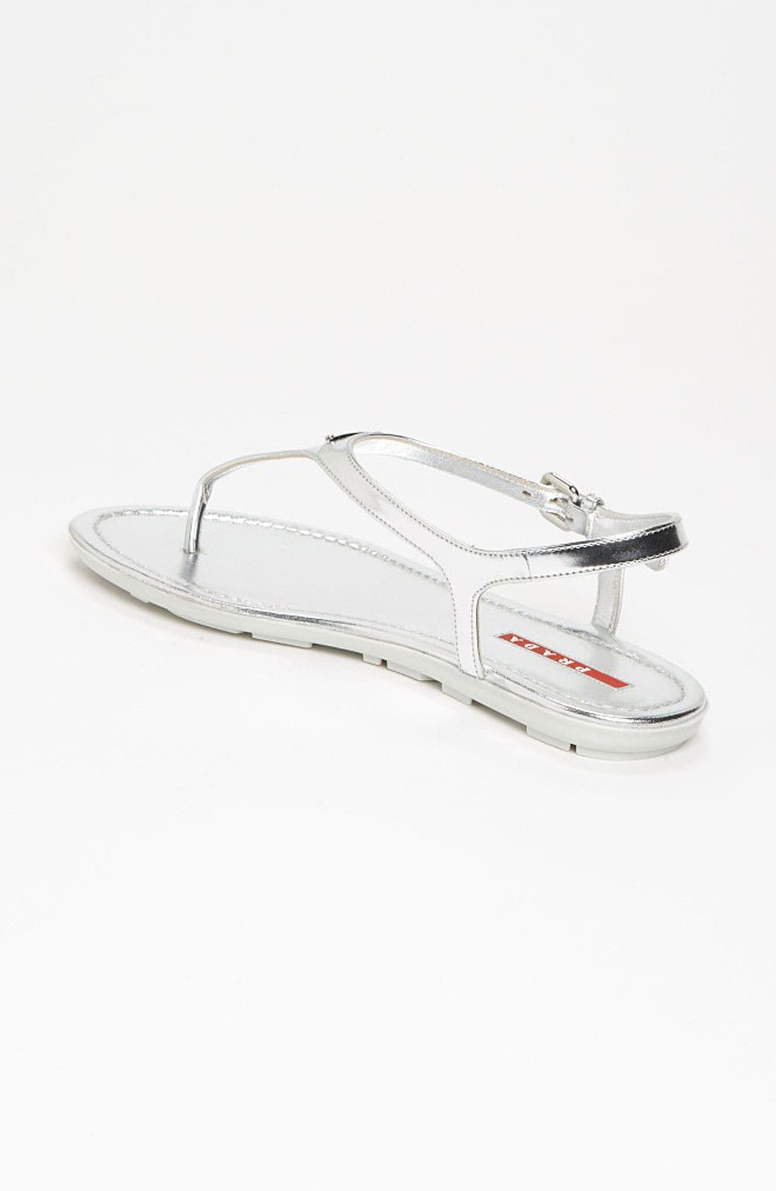 Alternate Image 2  - Prada Logo Thong Sandal