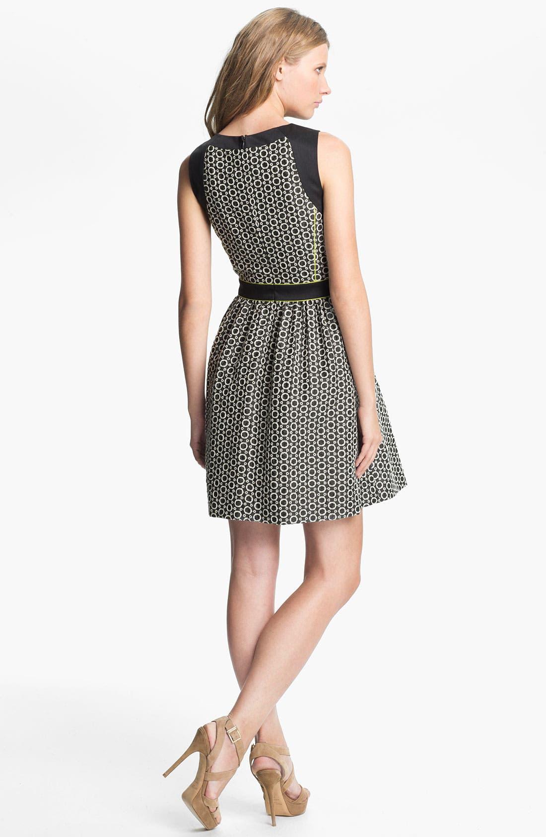 Alternate Image 2  - Mcginn Sleeveless Fit & Flare Dress