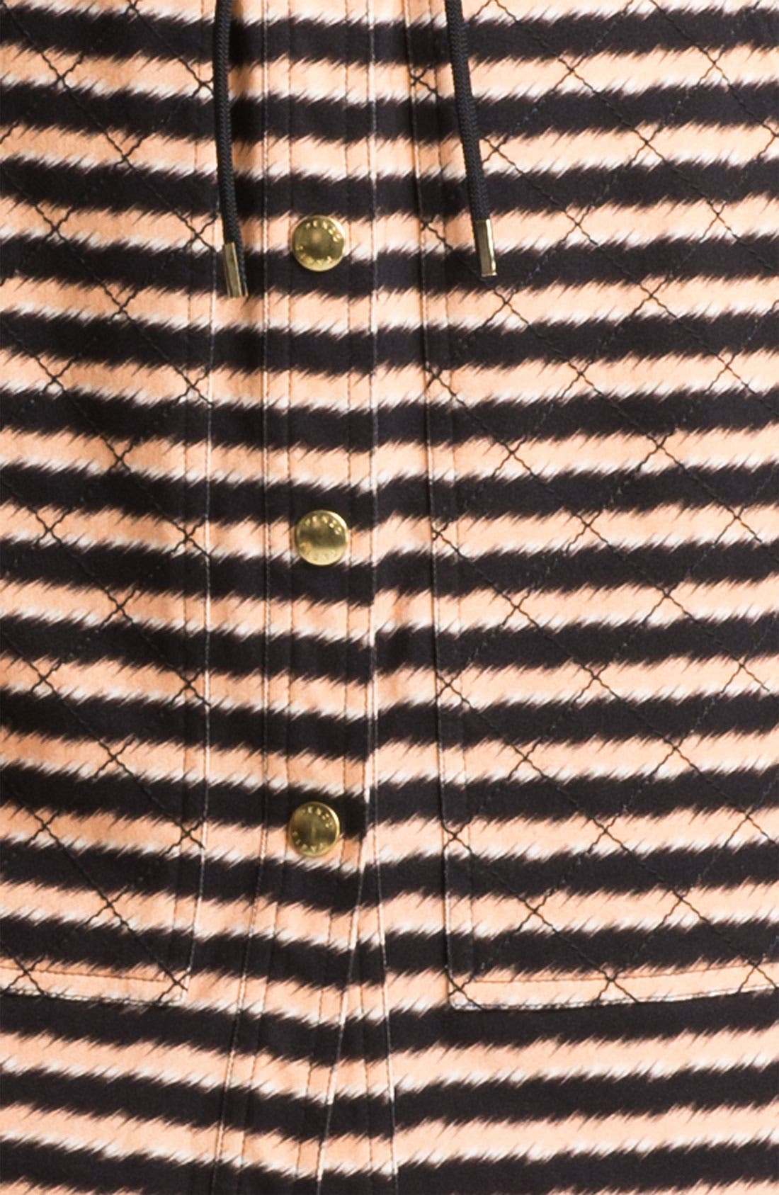 Alternate Image 3  - KENZO Stripe Stretch Cotton Shirtdress