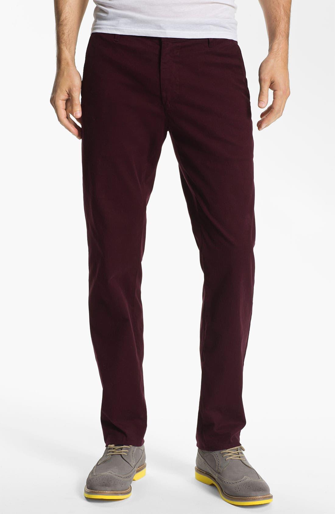 Alternate Image 1 Selected - AG Jeans Slim Straight Leg Pants