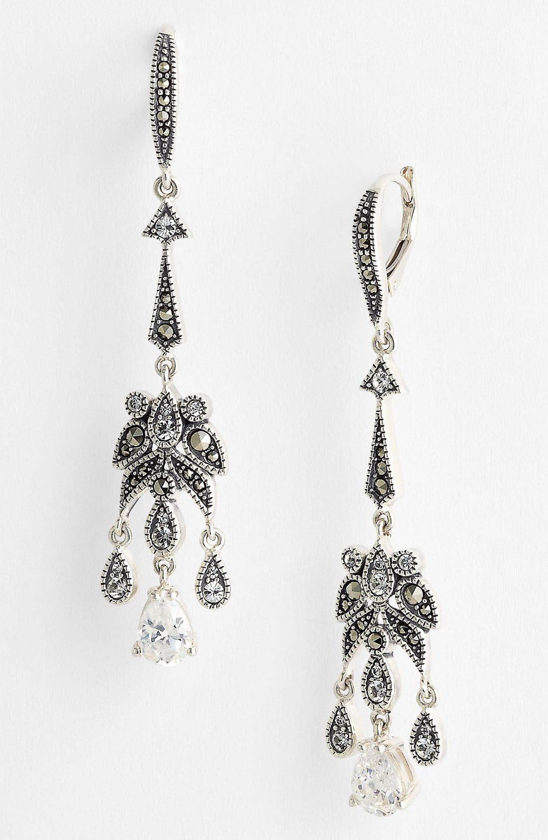 Main Image - Judith Jack 'Glamour' Linear Earrings