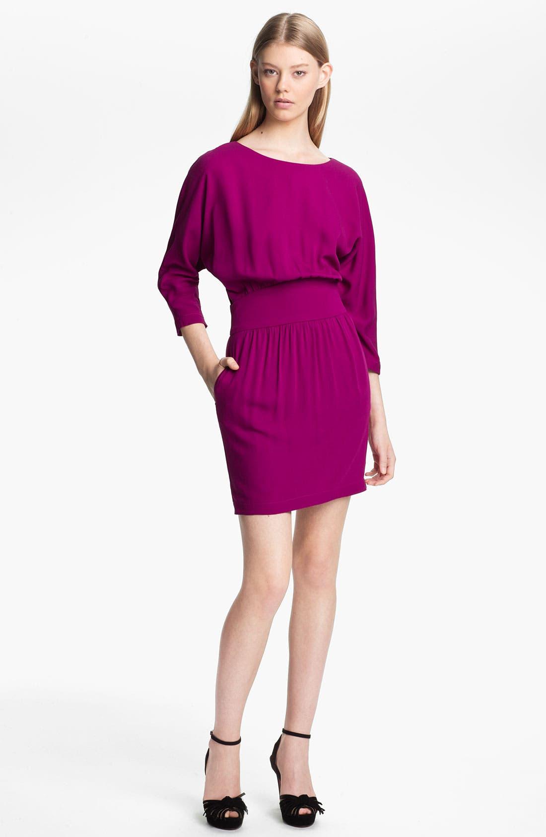 Main Image - Halston Heritage Crepe Dress