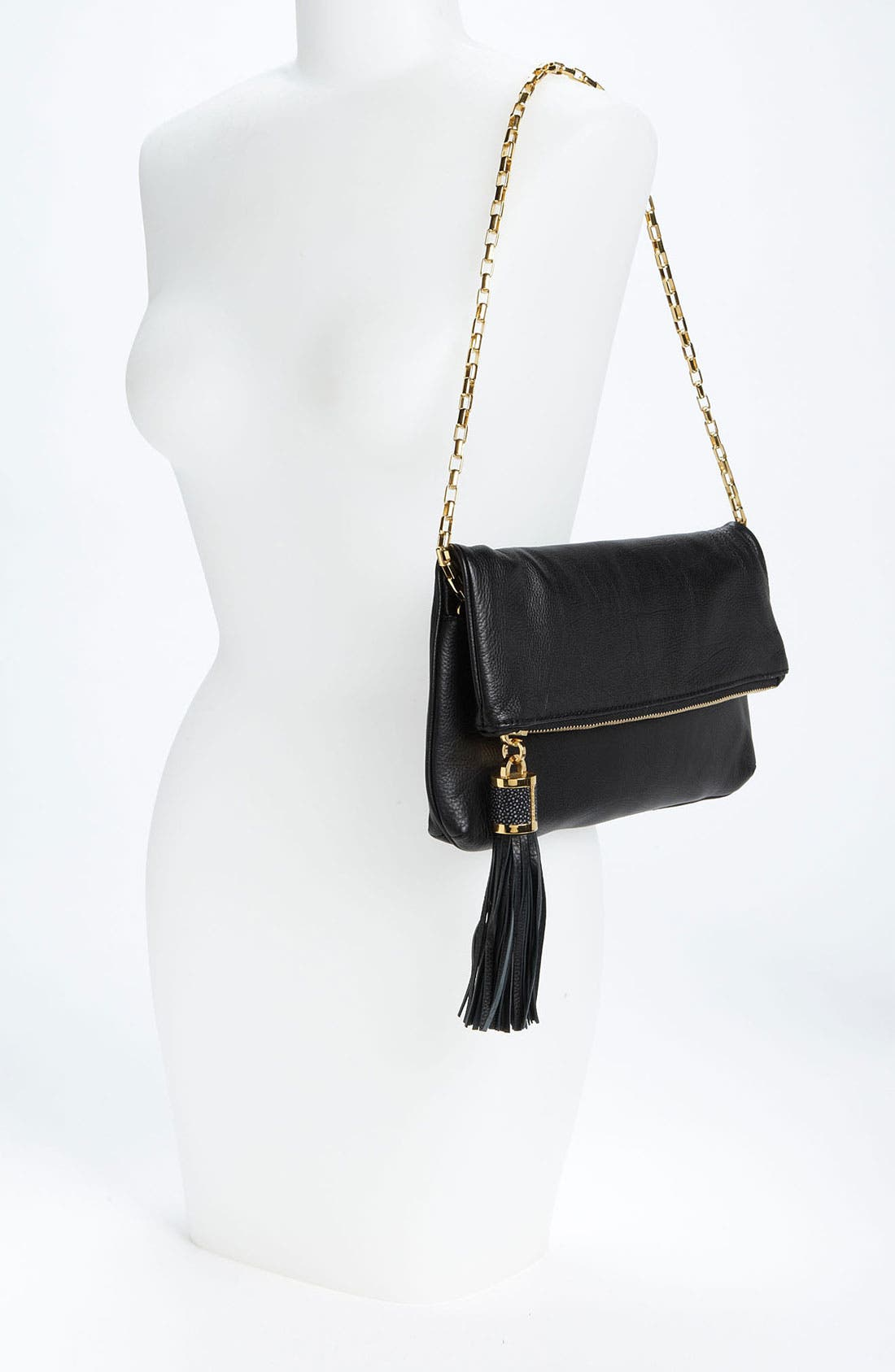 Alternate Image 2  - Michael Kors 'Tonne' Leather Shoulder Bag