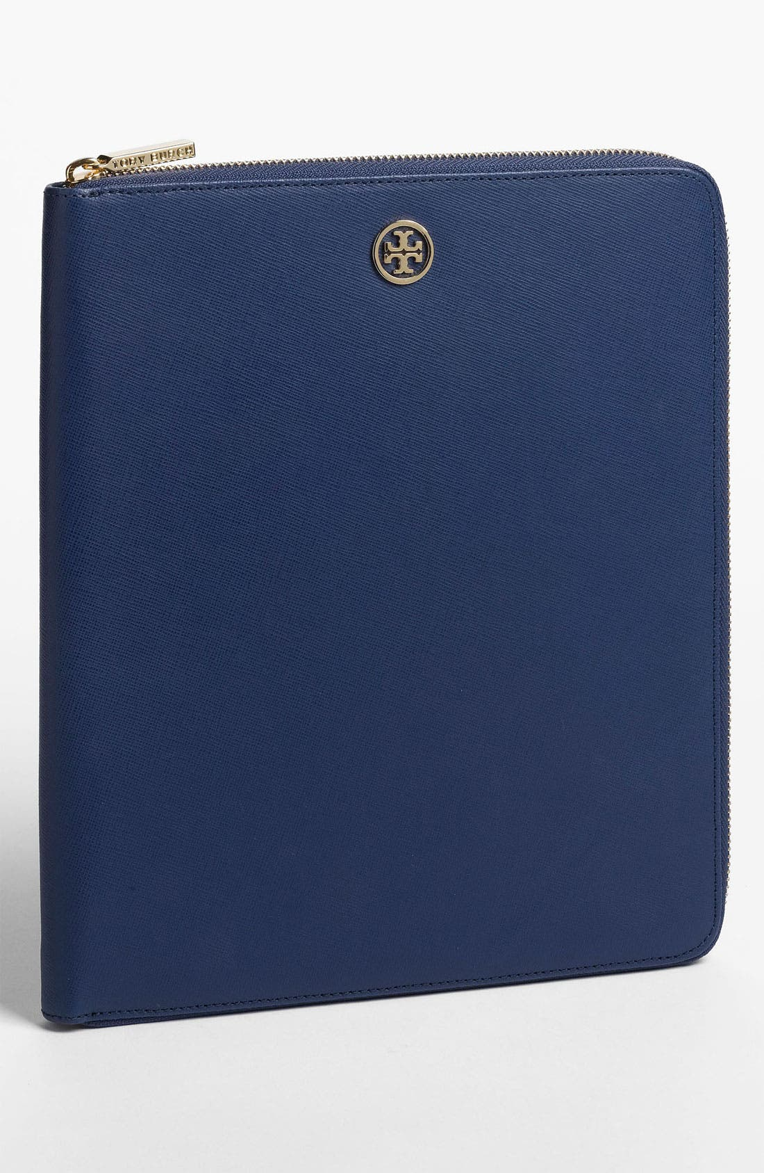 Alternate Image 1 Selected - Tory Burch Saffiano Leather iPad Case