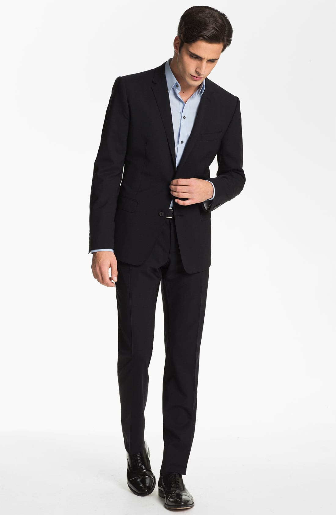 Alternate Image 2  - Dolce&Gabbana 'Martini' Stretch Wool Suit