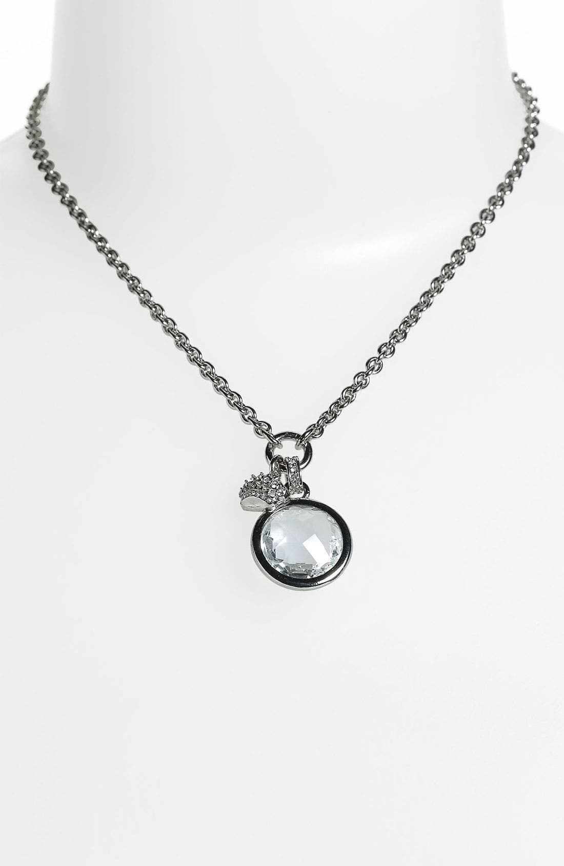 Alternate Image 1 Selected - Juicy Couture Pendant Necklace