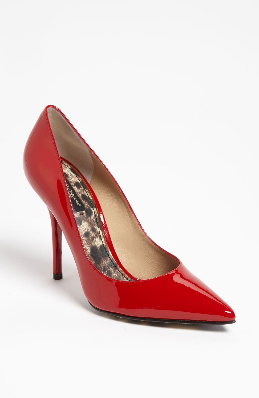 Main Image - Dolce&Gabbana Patent Pump
