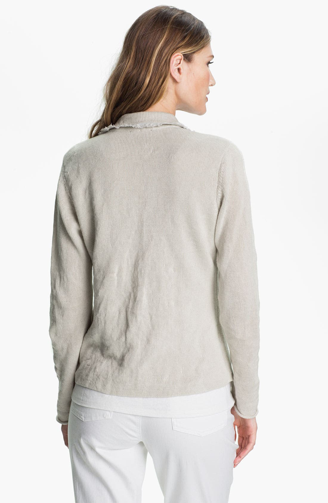 Alternate Image 2  - Eileen Fisher Metallic Jacket
