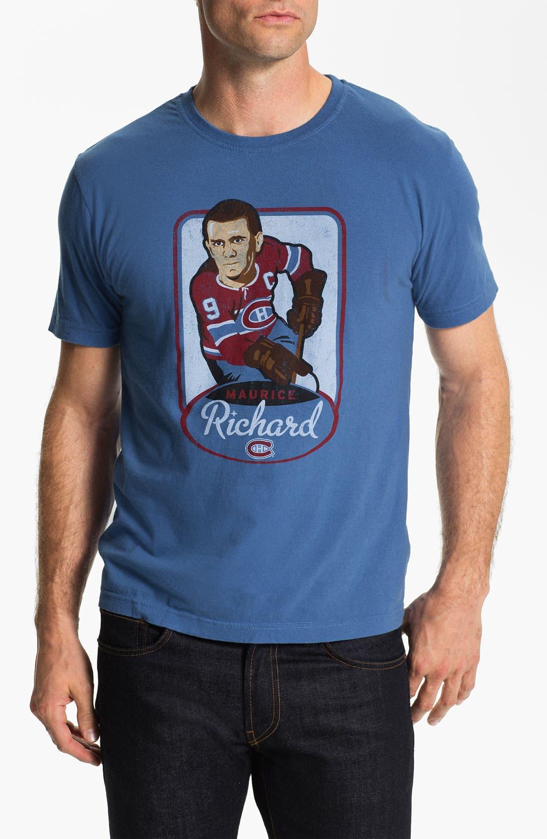 Alternate Image 1 Selected - Red Jacket 'Hyperbole - Maurice Richard' T-Shirt