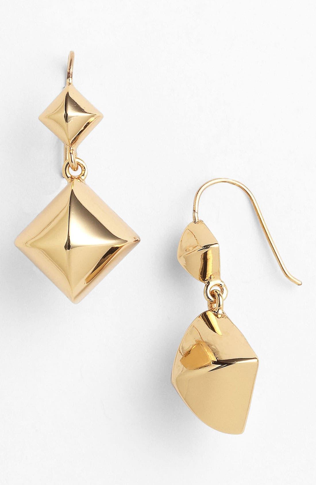 Alternate Image 1 Selected - Juicy Couture 'Heavy Metal' Drop Earrings