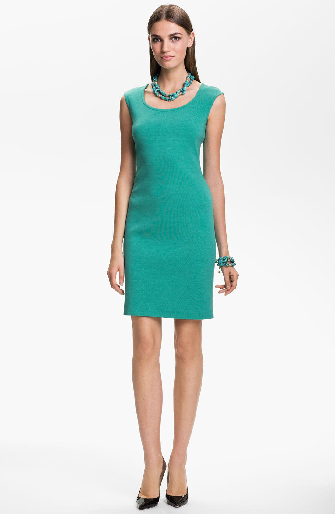Main Image - St. John Collection Knit Sheath Dress