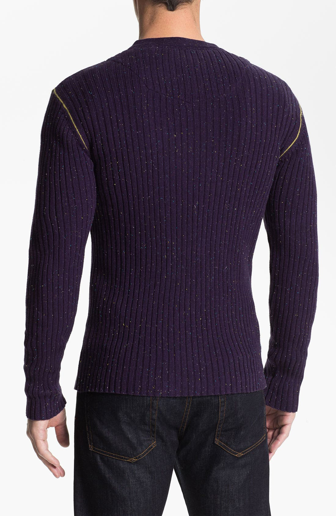 Alternate Image 2  - Robert Graham 'Mir' Ribbed V-Neck Sweater