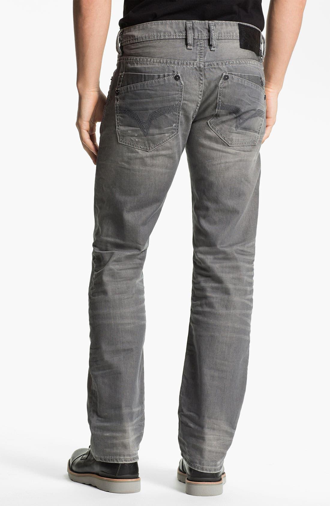 Alternate Image 2  - Buffalo Jeans 'Driven' Straight Leg Jeans (Aged/Torn)