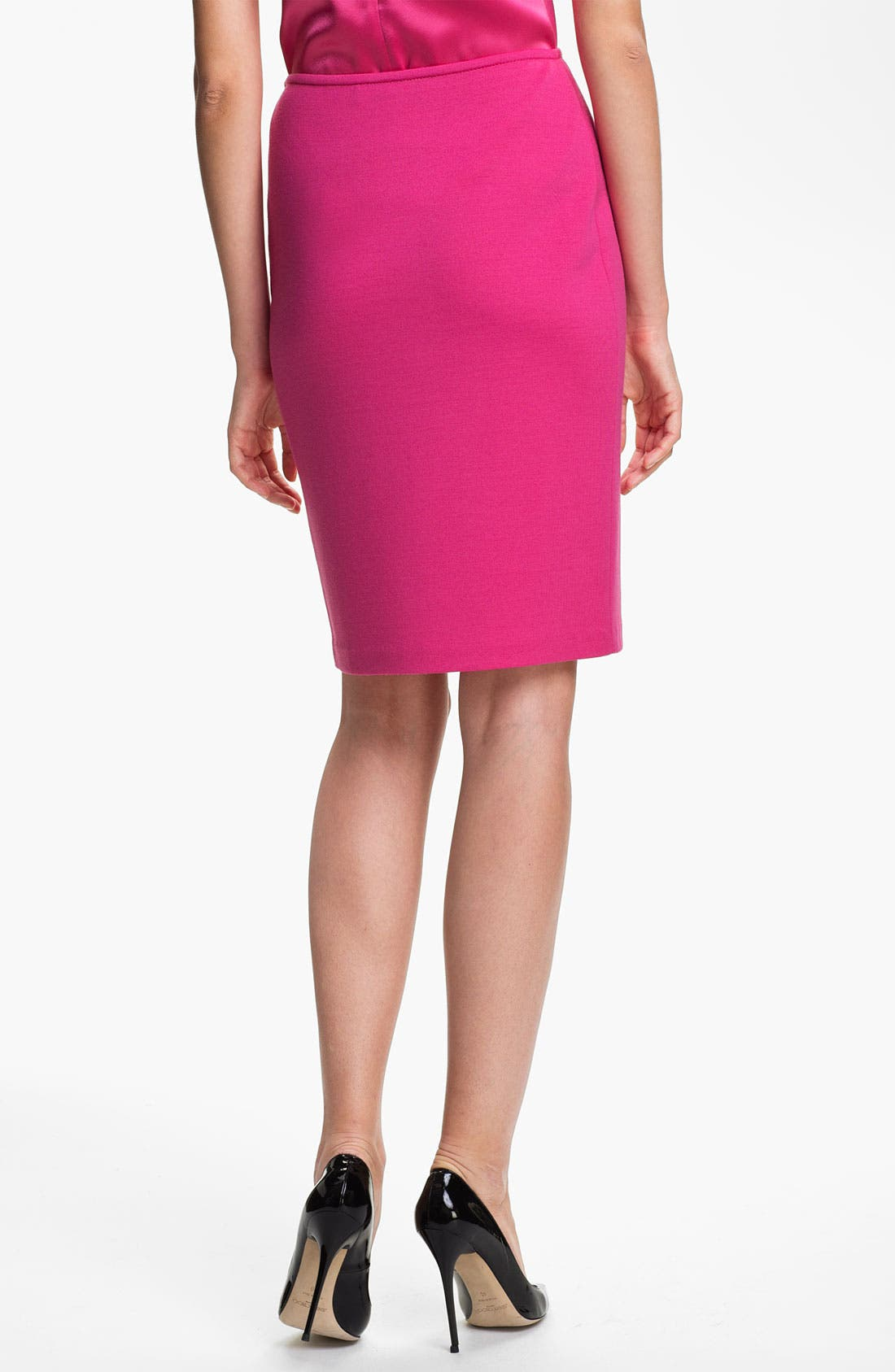 Alternate Image 3  - St. John Collection Milano Knit Pencil Skirt