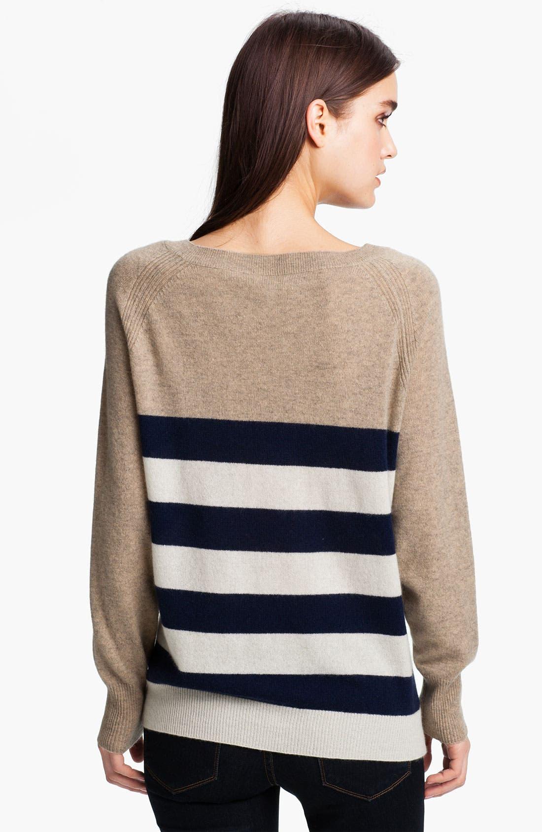 Alternate Image 2  - Joie 'Shirin' Stripe Cashmere Sweater