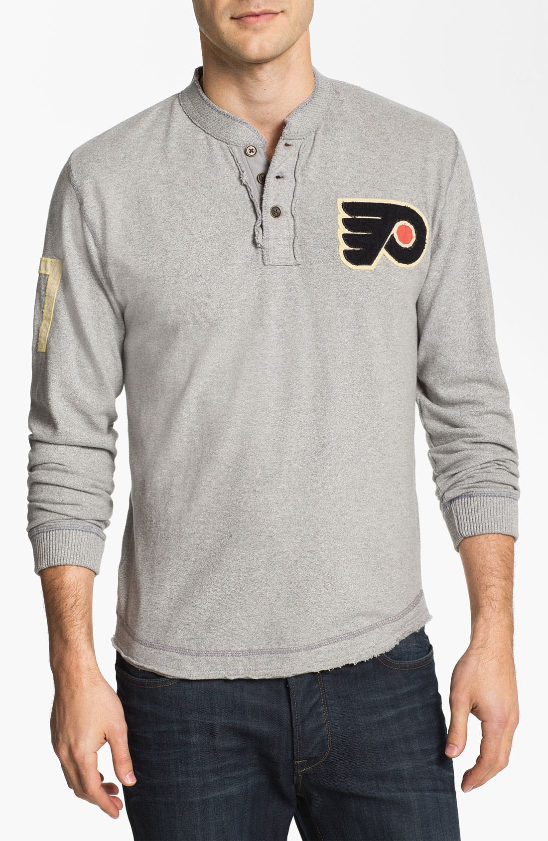 Main Image - Red Jacket 'Philadelphia Flyers - Ten Grand' Long Sleeve T-Shirt