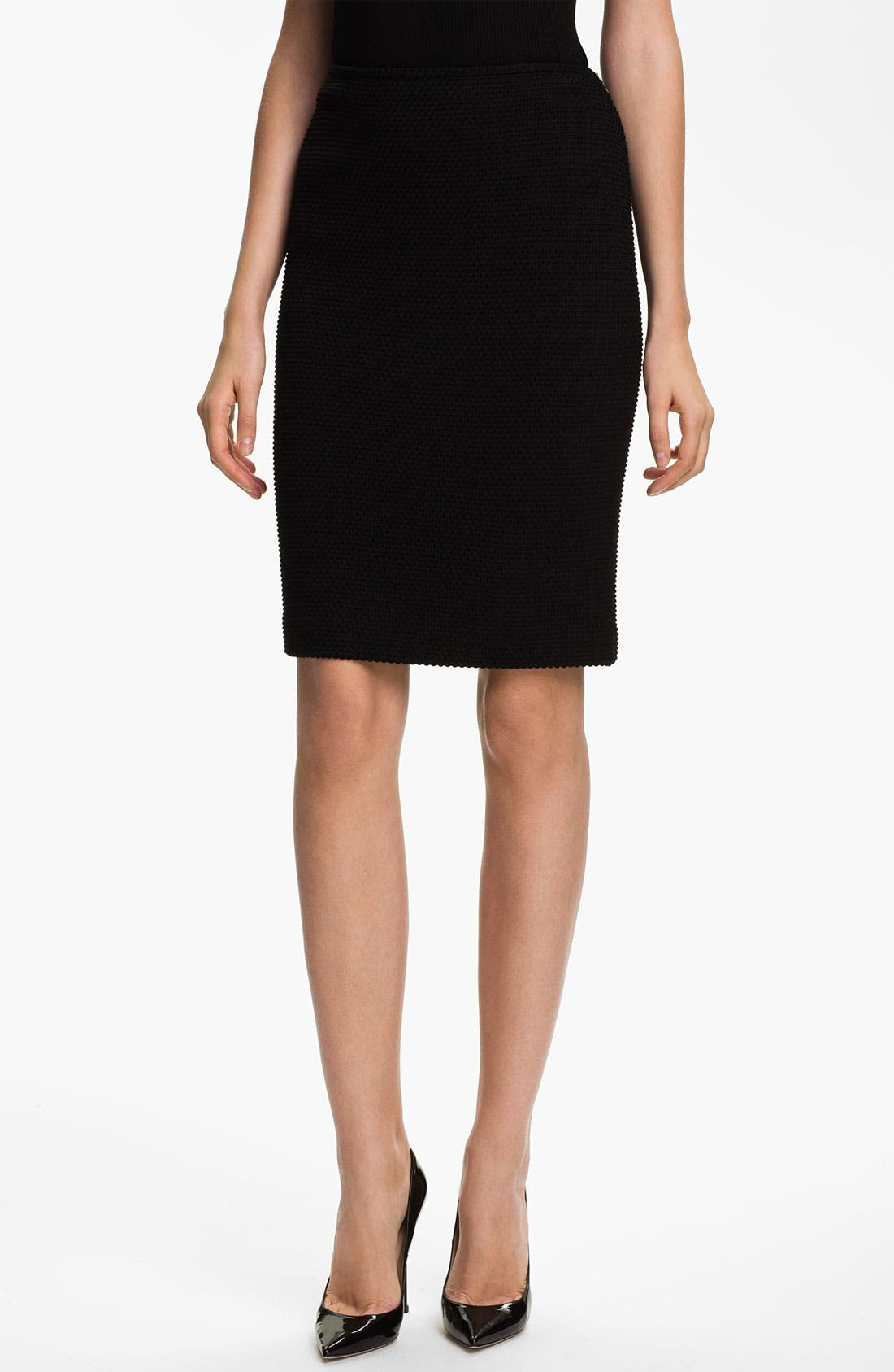 Main Image - St. John Collection Punto Riso Pencil Skirt