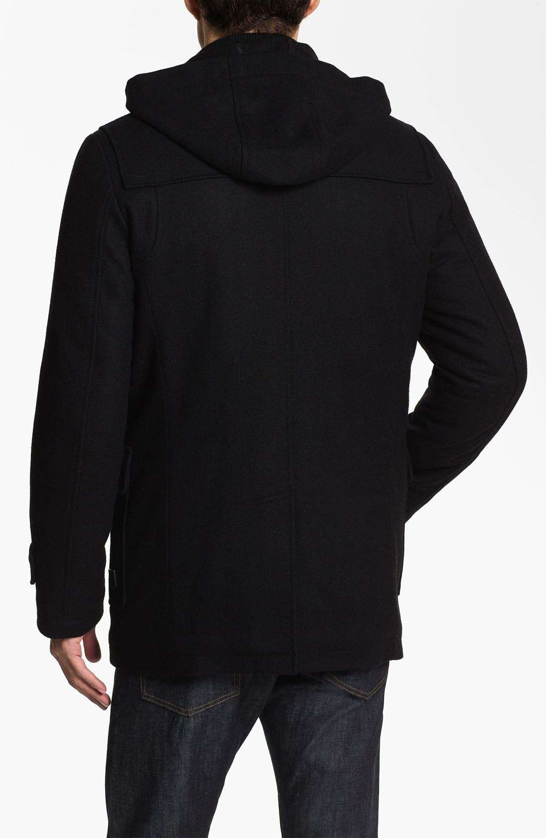 Alternate Image 2  - Vince Camuto Wool & Cashmere Blend Duffle Jacket