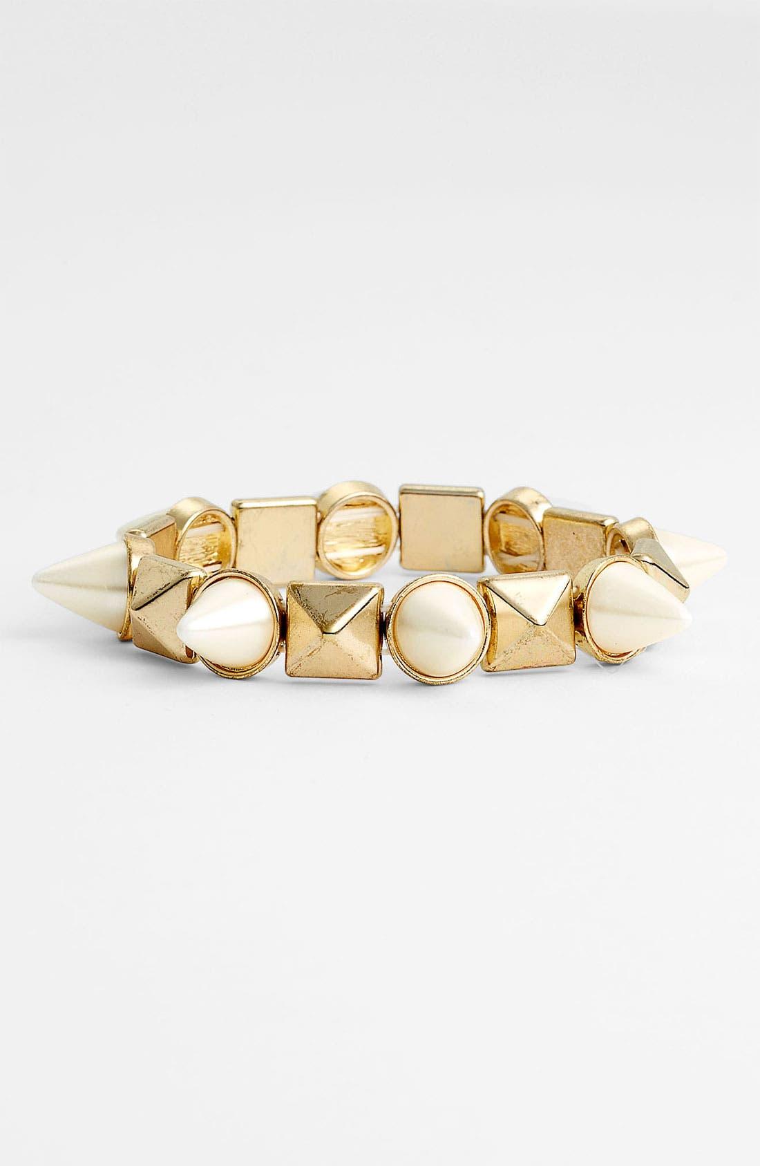 Alternate Image 1 Selected - Stephan & Co. Glossy Stud Bracelet