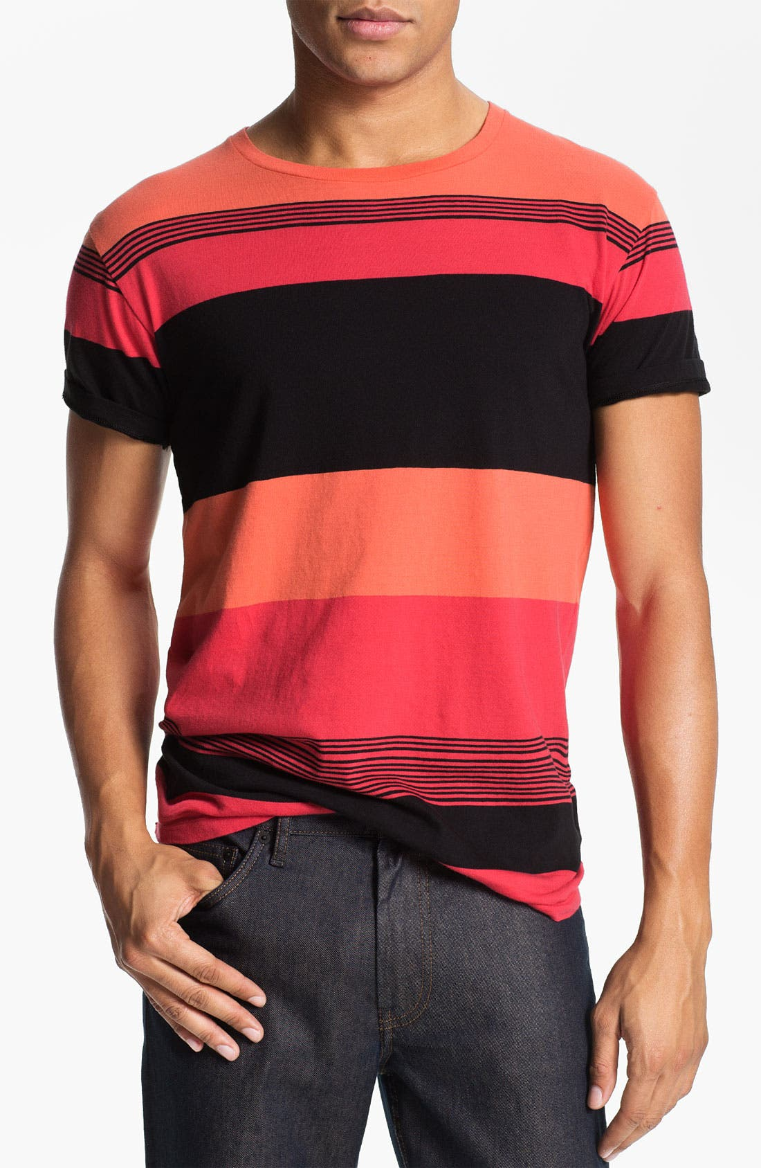Alternate Image 1 Selected - MARC BY MARC JACOBS 'Dylan' Stripe T-Shirt