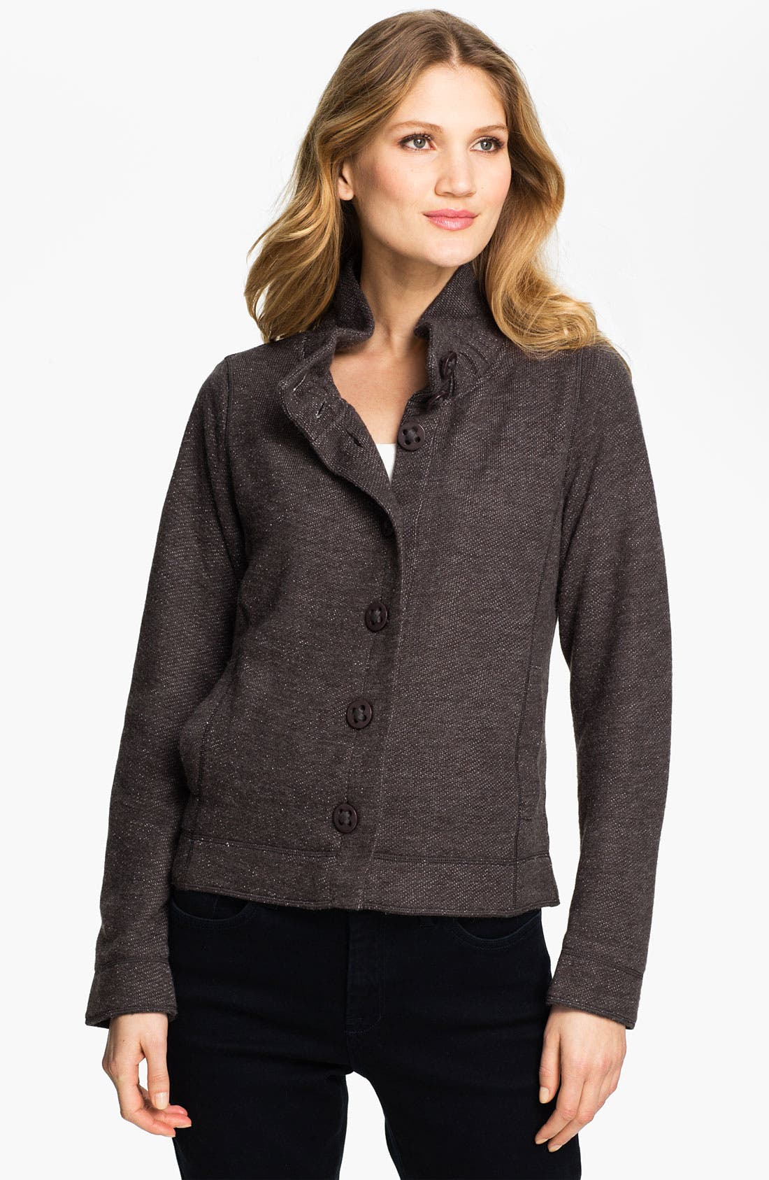 Alternate Image 1 Selected - Purity Stand Collar Spa Jacket