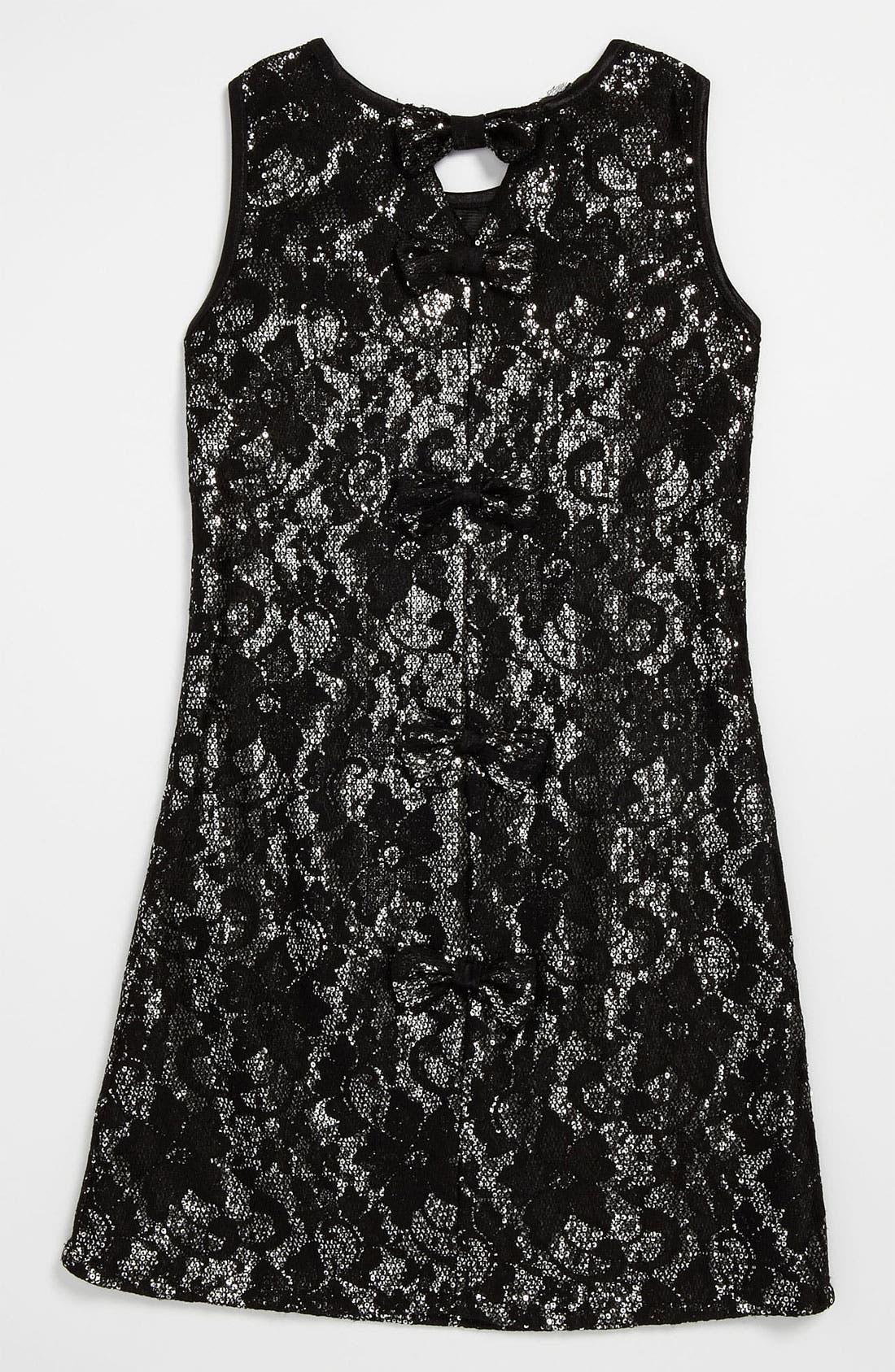Alternate Image 2  - Laundry by Shelli Segal 'Jessica' Dress (Big Girls)
