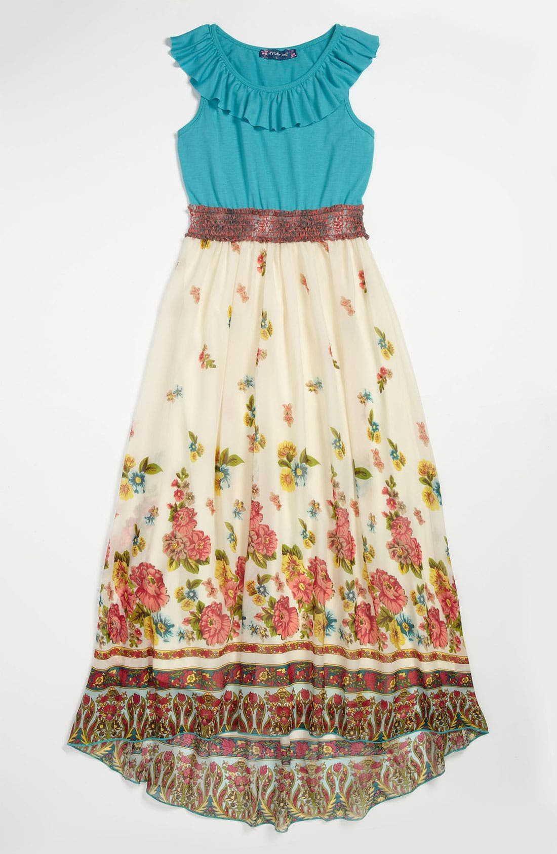 Main Image - Truly Me Maxi Dress (Little Girls & Big Girls)