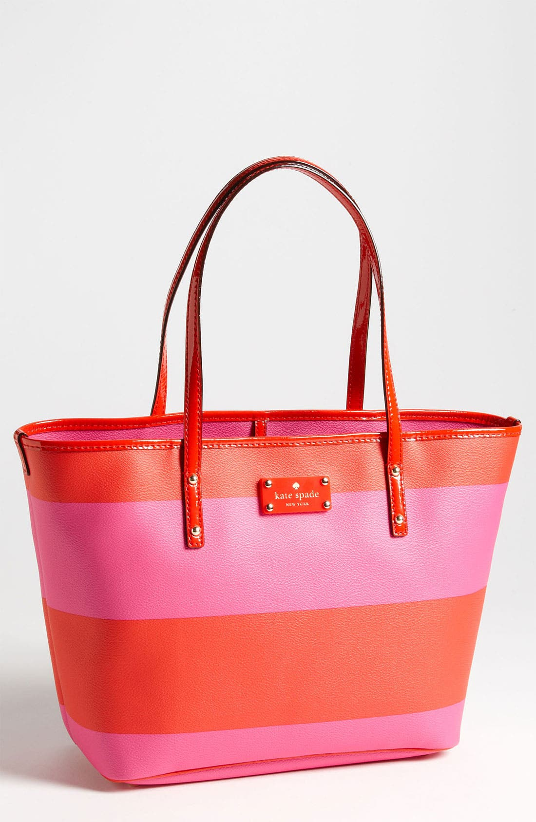 Alternate Image 1 Selected - kate spade new york 'boutique stripe - small harmony' tote