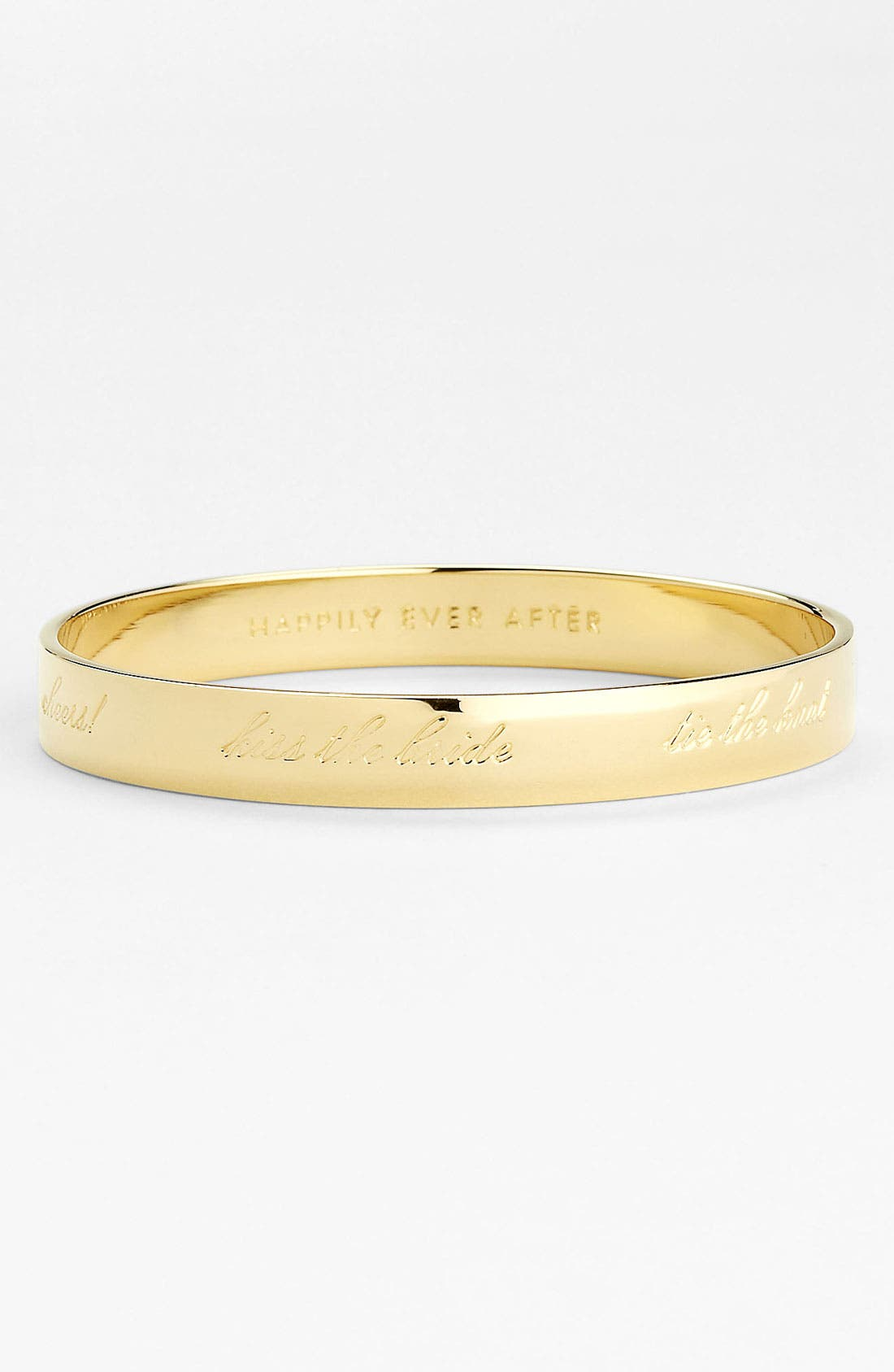 Alternate Image 1 Selected - kate spade new york 'idiom - happily ever after' bangle