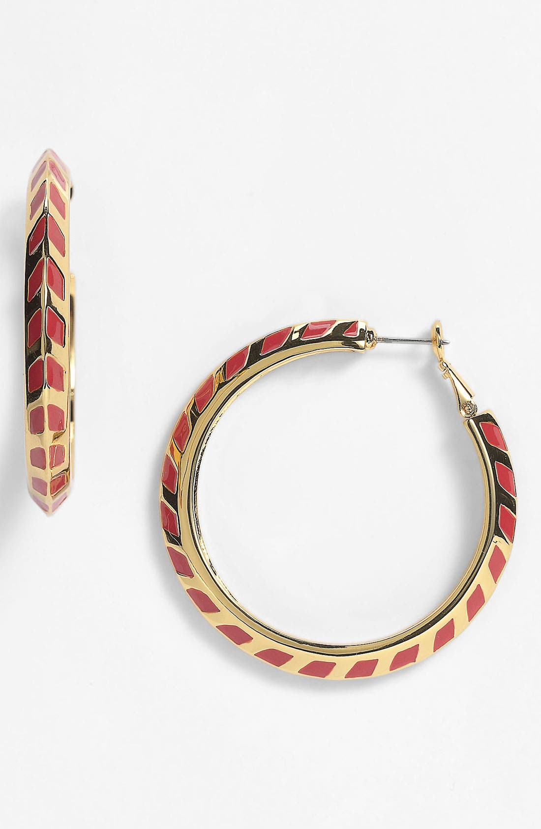 Alternate Image 1 Selected - Vince Camuto Hoop Earrings