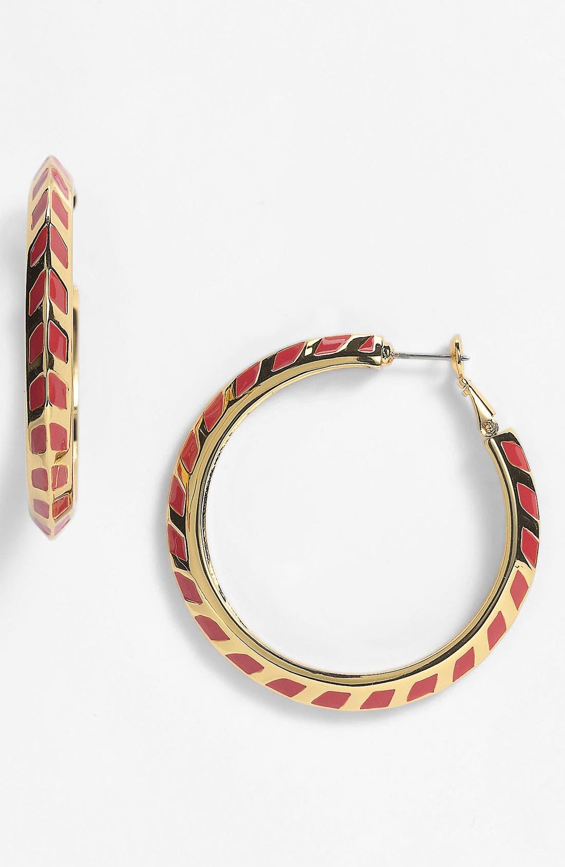 Alternate Image 1 Selected - Vince Camuto Hoop Earrings