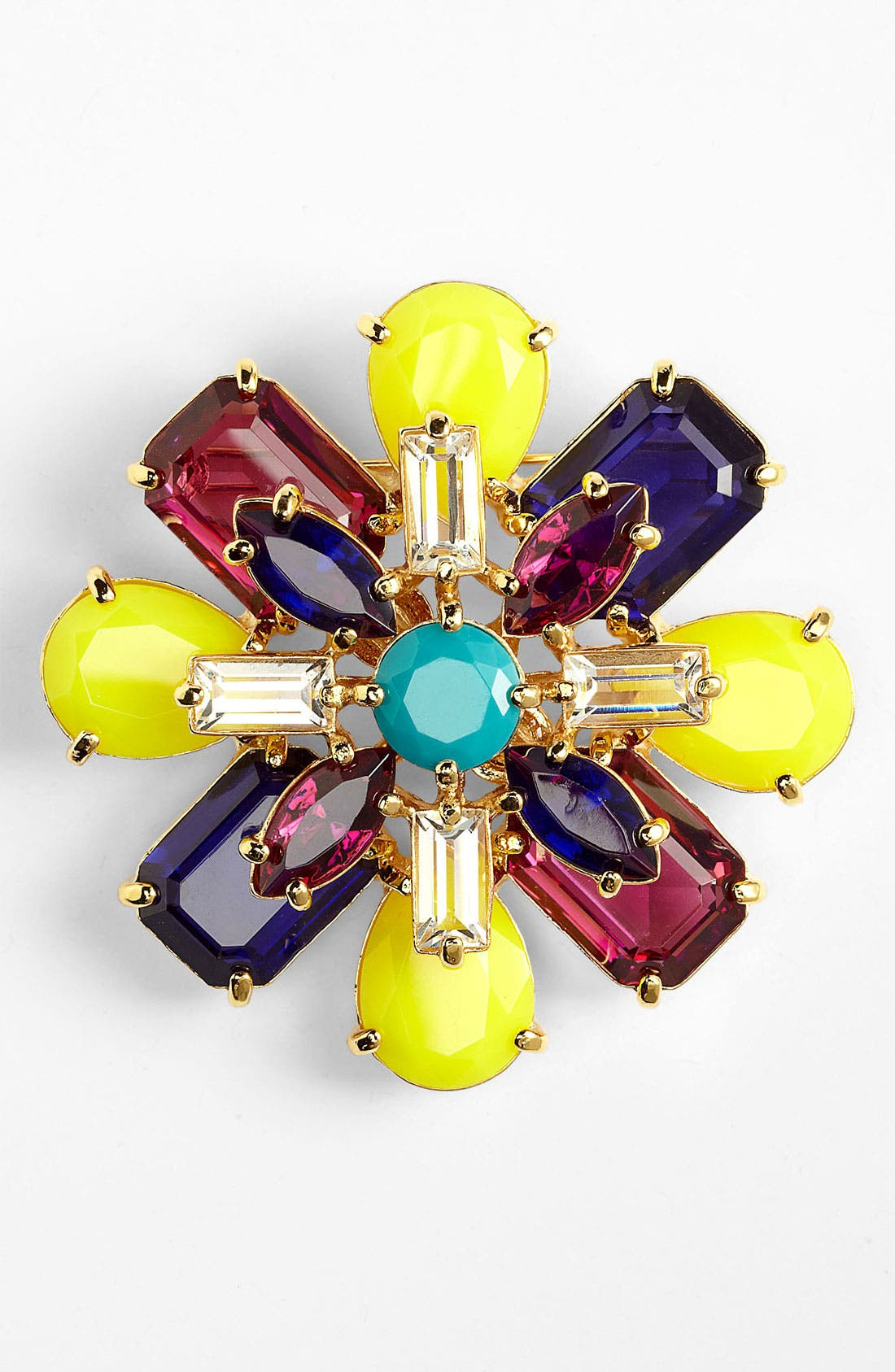 Alternate Image 1 Selected - kate spade new york 'kaleidoscope floral' brooch