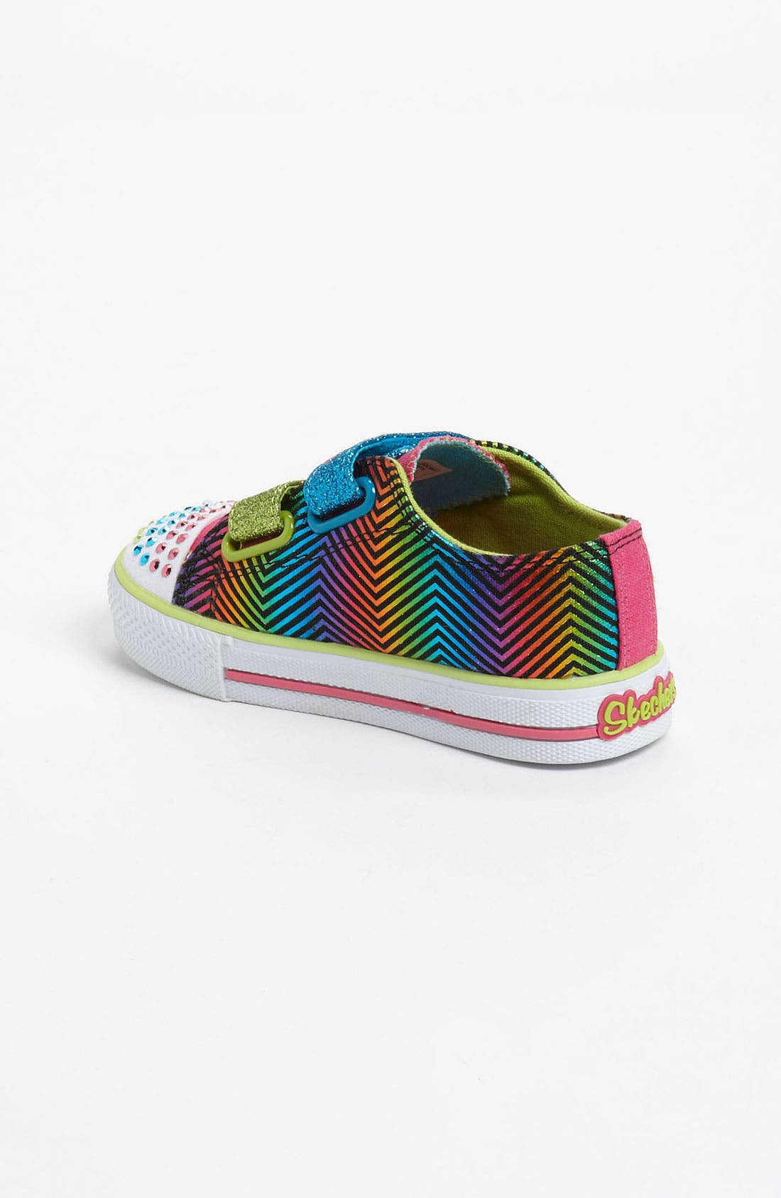 Alternate Image 2  - SKECHERS 'Shuffles - Baby Luv' Light Up Sneaker (Walker & Toddler)