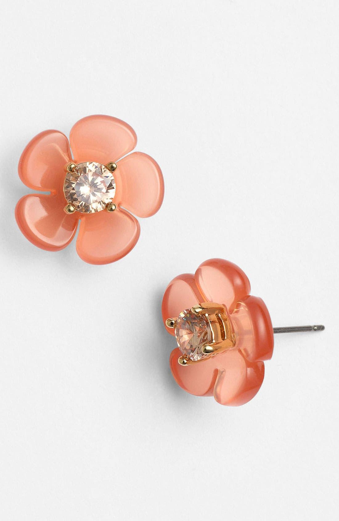 Alternate Image 1 Selected - Tory Burch 'Flora' Stud Earrings