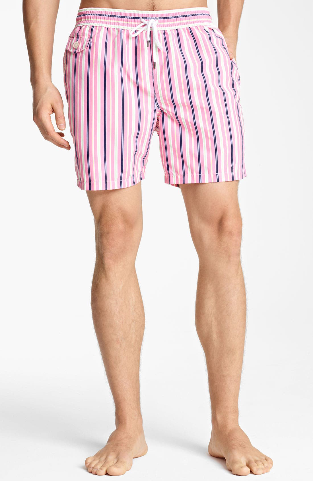Main Image - Polo Ralph Lauren 'Traveler' Swim Trunks