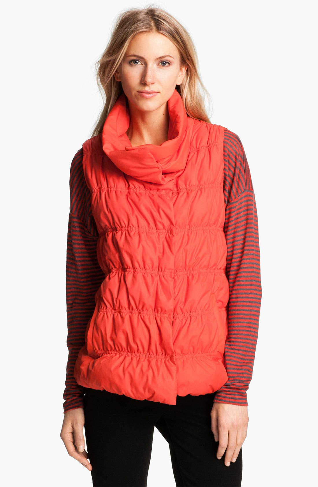 Alternate Image 1 Selected - Eileen Fisher Weather Resistant Down Vest