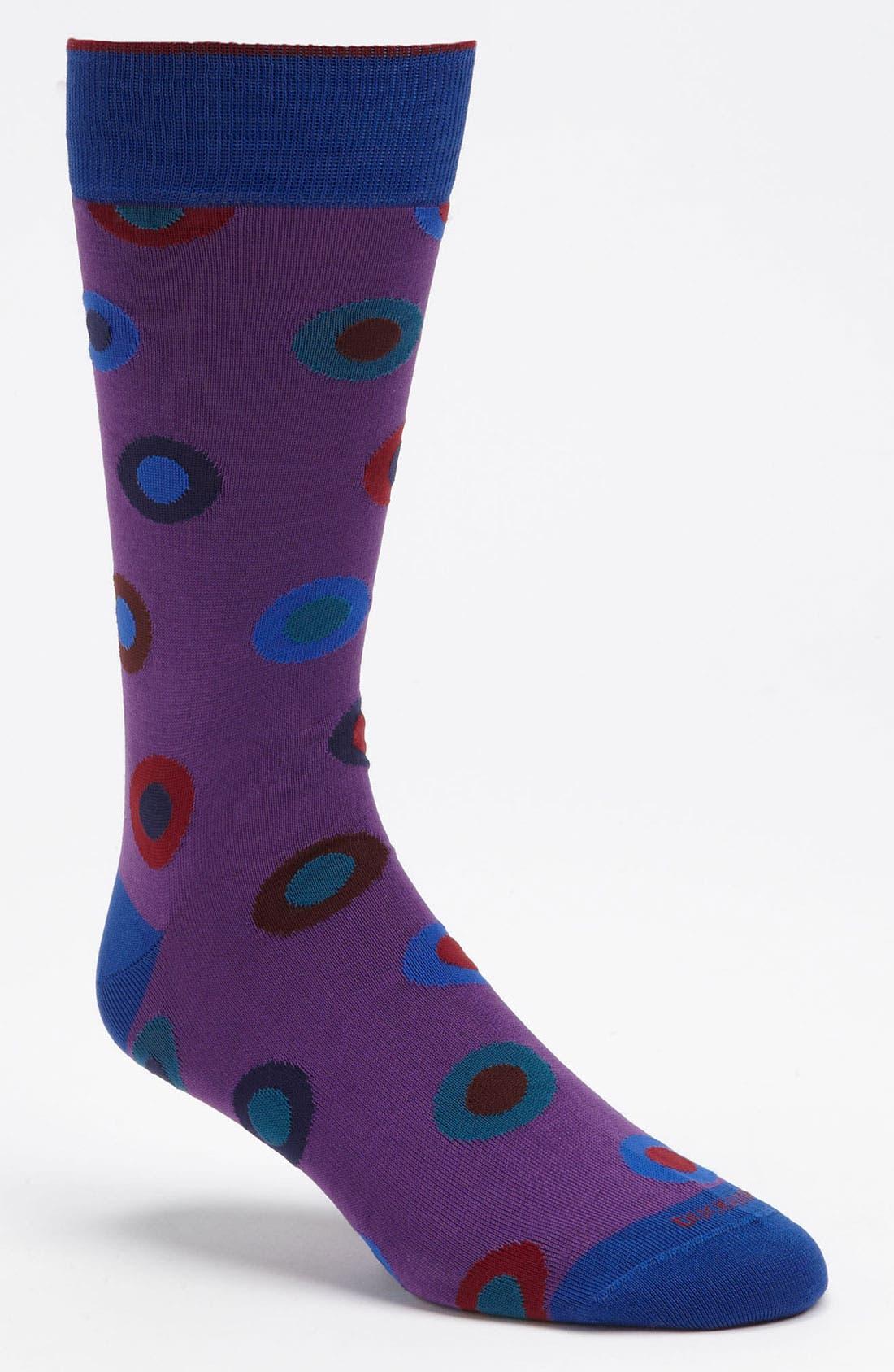 Alternate Image 1 Selected - Duchamp 'Dot in Spot' Socks
