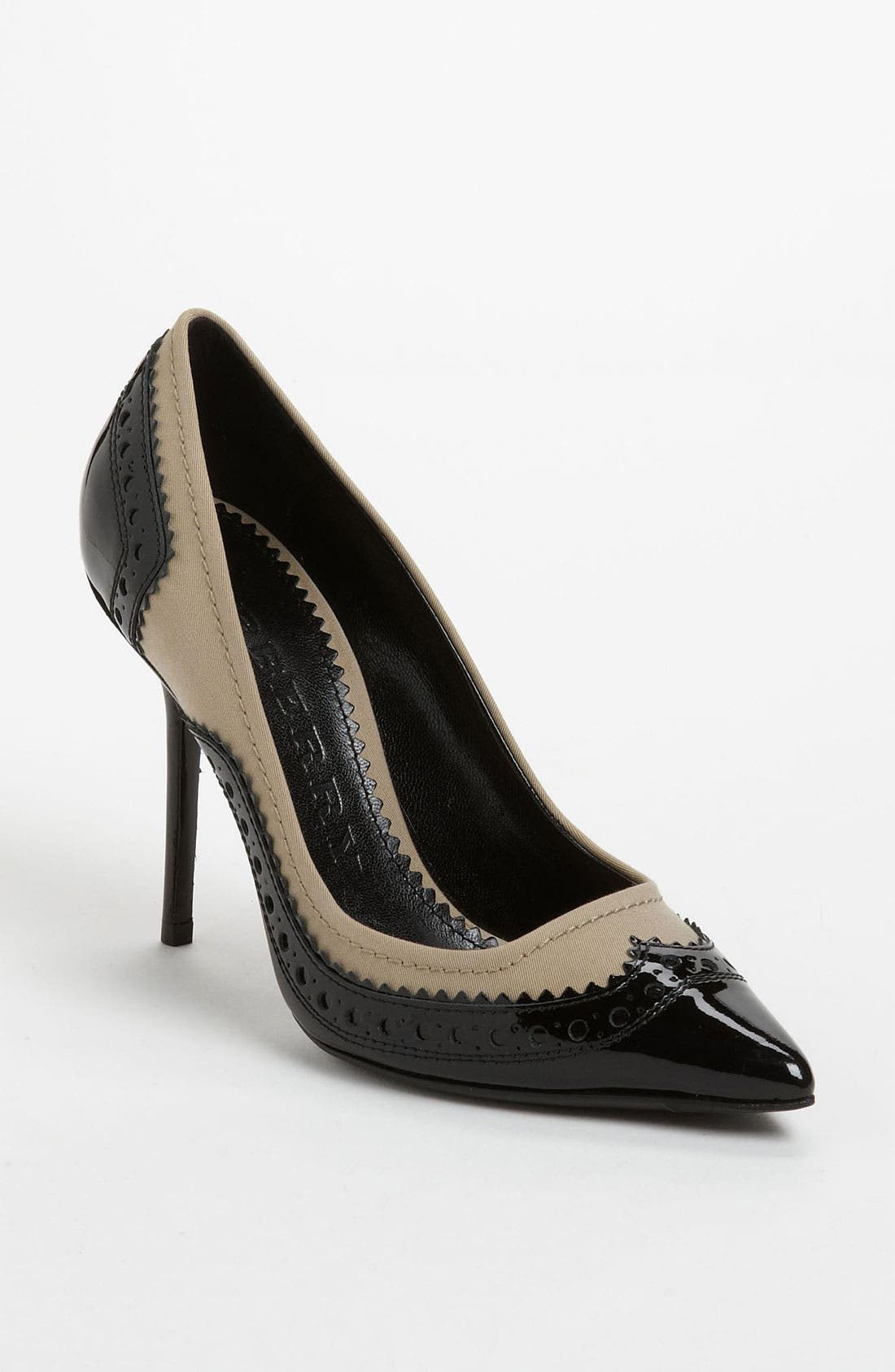 Alternate Image 1 Selected - Burberry 'Alkerden' High Pump
